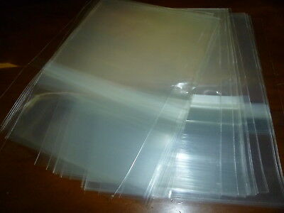 50pcs 2CD-BOX Plastic Protect Bag Resealable Outer Sleeves CD Jewel Cases