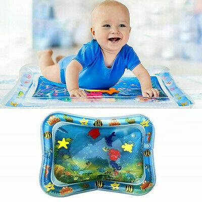 Inflatable Water Play Mat Infants Baby Toddlers Kid Perfect Toys Tummy Play Time