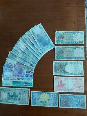 Banknotes Indonesia