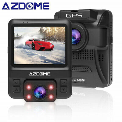 AZDOME GS65H Car DVR Dash Cam Mini Dual Lens Front Full HD 1080p Car Camera P4D3
