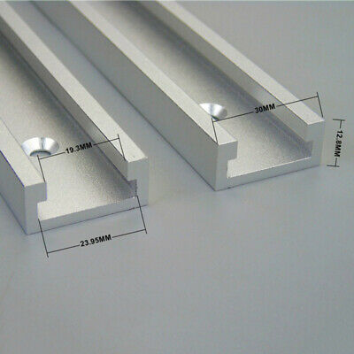 Aluminium 600mm T-Slot T-Track Miter Track Woodworking Tools Alloy High Quality