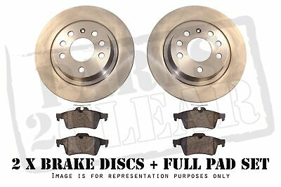 FRONT BRAKE DISCS AND PADS FOR DAIHATSU YRV 1.3 TURBO 6//2003-4//2005