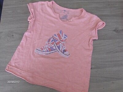 Lot De 3 Tee-Shirts Fille Taille 10 Ans Tbe