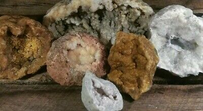 geodes break your own unopened natural Crystals gems minerals kentucky 12 lbs