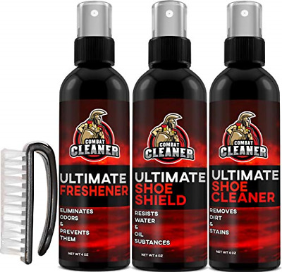 Ultimate Shoe Cleaner Kit Shoe Cleaner Deodorizer Spray Shield Leather Suede