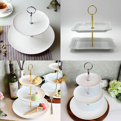 Cake Plate stand Fitting Hardware Rod Zinc alloy Cupcakes Dessert Tray