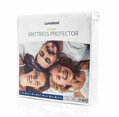 Mattress Cover Protector Waterproof Pad Cal King Size Bed Cover Hypoallergenic