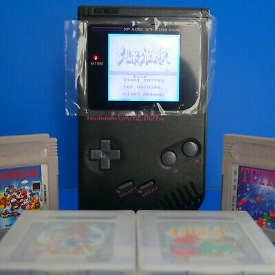 CUSTOM POKEMON GAMEBOY DMG With Backlight and Bivert  6 Mods
