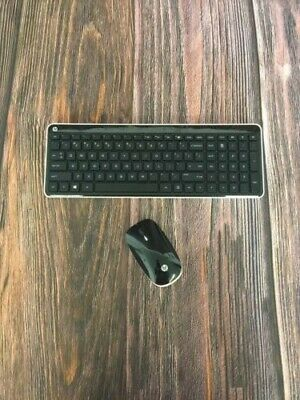 NO DONGLE - HP Wireless Keyboard Model KG-1450 and Mouse Model MG-1451
