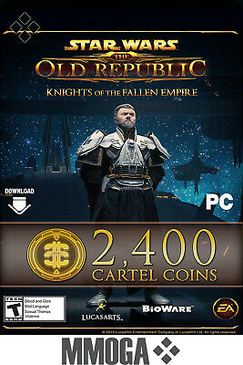 SWTOR 2400 pièces du Cartel Points - Star Wars The Old Republic - FR/EU
