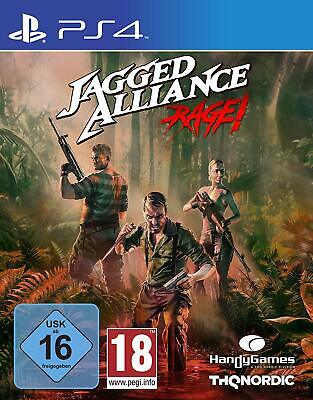 PS4 Game Jagged Alliance: Rage! New
