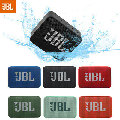 JBL GO2 IPX7 Waterproof Wireless BT Stereo Speaker w/MIC Outdoor Portable