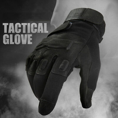 Tactical Motorcycle Hunting Men Anti-skid Ripstop Military Full Finger Gloves US