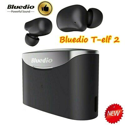 Bluedio T-elf Air pod Bluetooth 5.0 Sports Wireless Earphones with charging box!