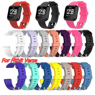 For Fitbit Versa Watch Replacement Fitness Silicone Strap Band Girl Wrist Band