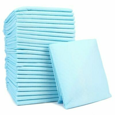 Incontinence Sheets Pads Disposable Bed Protection 60x45cm Large Super Absorbent