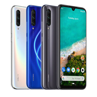 "Xiaomi Mi A3 128GB 4GB Smartphone 6,088"" 48MP 4G Dual SIM 4030mAh Global Version"