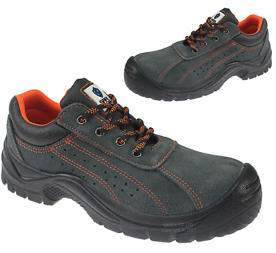 New Mens Ultra Light Weight Work Safety Shoes Composite Toe Cap Trainers Uk Size