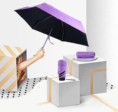 Advanced Pocket Folding Mini UV Protection Umbrella Sun Lightweight Pure UK