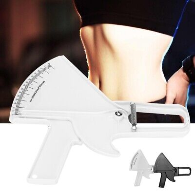 Body Fat Caliper & Mass Measuring Tape Tester Fitness Weight Loss Diet Healthy
