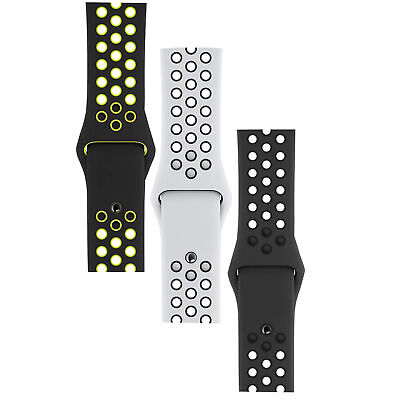 Apple Nike Sport Band, Watch Strap for 40mm & 44mm Smart Watch, Optional Colours