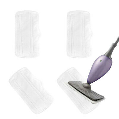 4//6//10 Steam Mop Replacement Microfiber Pads compatible with S3101 S3250 S3251