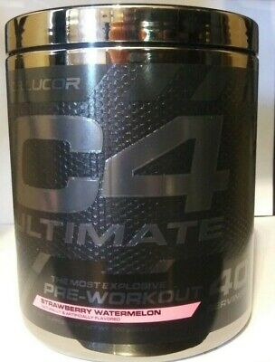 Cellucor C4 Ultimate 40 serv Strawberry Watermelon NEW!! EXP 07/21 FREE SHIPPING