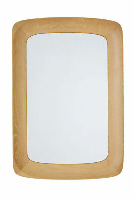 Mid 20Th Century Light Oak Framed Mirror By Glas And Tra