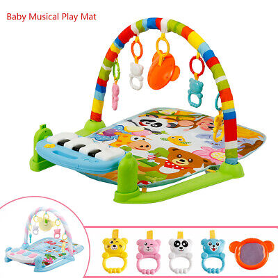 4in1 Fitness Music Baby Play Mat Kids Gym Playmat Activity Fun Piano Boys Girls