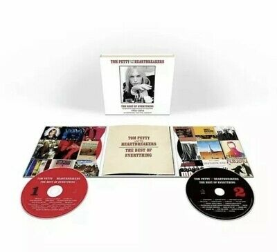 The Best Of Everything  1976-2016 by Tom Petty And The Heartbreakers CD/NEW)[J1]