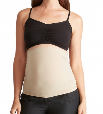 NWT Bellaband Ingrid & Isabel Women's Maternity Sand Nude Belly Band SIZE 4