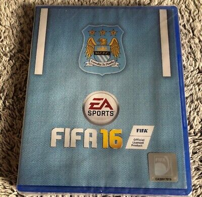Playstation 4, ps4 Game - fifa 16, Manchester city edition, new and sealed, RARE