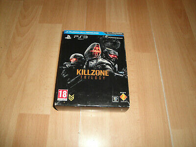 Killzone Trilogy Con Los 3 Juegos Para Sony Play Station 3 Ps3 En Buen Estado