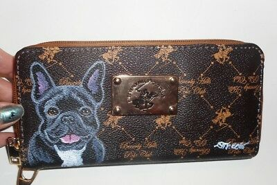 a1d261914d77 VEGAN LEATHER IPHONE Case And Credit Card Holder - French Bulldog ...
