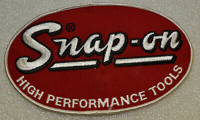 """/""""NEW/"""" Vintage Old Antique Snap-on Tools Racing Uniform Patch #6"""
