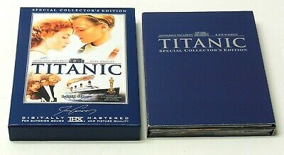 TITANIC Special Collector's Edition 3 Disc DVD Box Set 1997 TESTED James Cameron