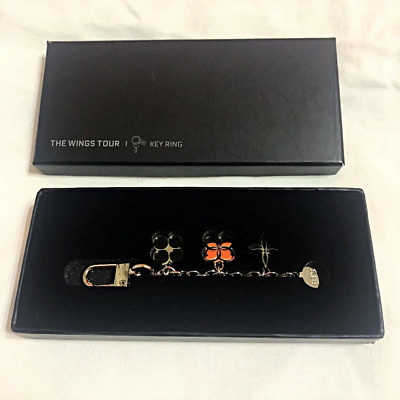 BTS Keyring Keychain THE WINGS TOUR Special Edition Official Japan Limited NEW