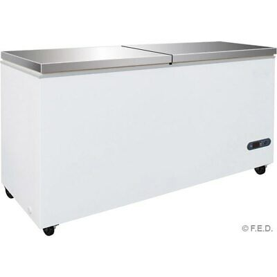768L Chest Freezer with two SS lids BD768F