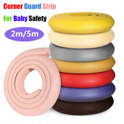 Baby Safety Table Corner Desk Edge Guard Strip Bumper Protection Cushion 2/5m