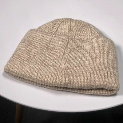 Winter Hat Women Solid Plain Knit Warm Ski Beanies Winter Casual Wool Cap Cuffed
