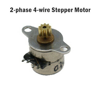 4 Wire 2 Phase micro stepper motor dia 8mm Mini