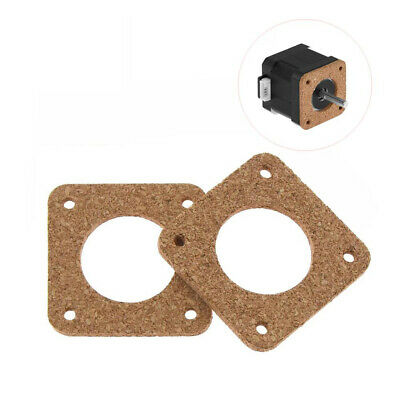 NEMA 17 Stepper Motor Damper Isolator Cork Gaskets (2mm)