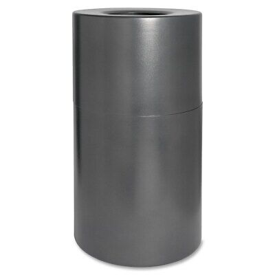 Genuine Joe Fire/Leak Proof Waste Receptacle Grey 15 Gallons and Up