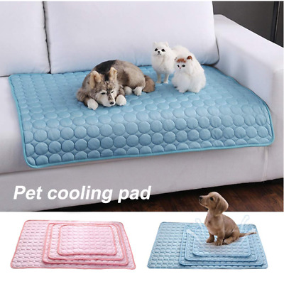 Pet Cooling Mat Non-Toxic Cool Pad Pet Bed For Summer Dog Cat Puppy