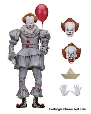 """IT Pennywise 7"""" Scale Action Figure Collectible Ultimate Pennywise (2017) NECA"""