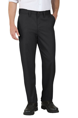 Dickies Occupational Workwear LP700BK 36x30 Polyester/Cotton Relaxed Fit Men's