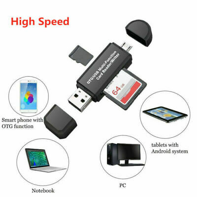 Useful Micro SD Card Reader Mobile Phone USB 3.0 Memory Card USB Reader Adapter
