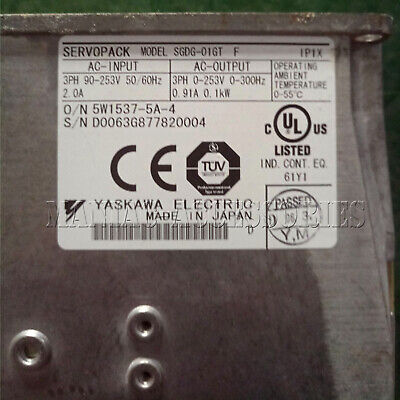 1PC Used Yaskawa servo driver SGDG-01GT Tested In Good Condition
