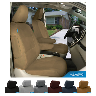 Polycotton Drill Custom Fit Seat Covers For Nissan Leaf