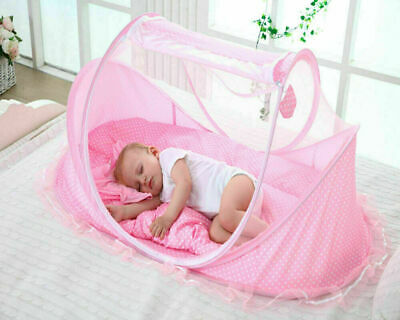 Summer Mosquito Net for Children Portable Folding Baby Travel Bed Crib Baby Cots